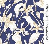 elegant seamless pattern with... | Shutterstock .eps vector #1311716531