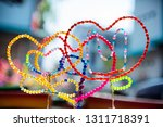 Heart Shaped Beads That Are...
