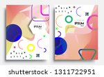modern abstract covers set.... | Shutterstock .eps vector #1311722951