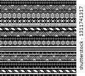 tribal art  ethnic seamless... | Shutterstock .eps vector #1311741317
