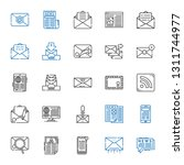 newsletter icons set....
