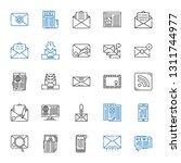 newsletter icons set....