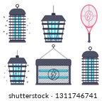 electric bug zapper  fly... | Shutterstock .eps vector #1311746741