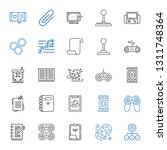 pad icons set. collection of... | Shutterstock .eps vector #1311748364