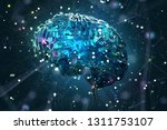 artificial intelligence concept ... | Shutterstock . vector #1311753107