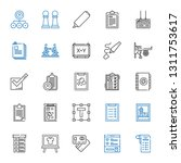 check icons set. collection of... | Shutterstock .eps vector #1311753617