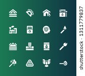 damage icon set. collection of... | Shutterstock .eps vector #1311779837