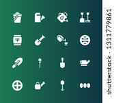soil icon set. collection of 16 ... | Shutterstock .eps vector #1311779861