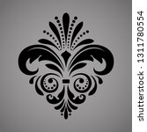 damask graphic ornament. floral ... | Shutterstock . vector #1311780554