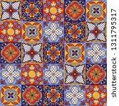 mexican talavera ceramic tile... | Shutterstock .eps vector #1311795317