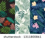 set of three tropical...   Shutterstock .eps vector #1311800861
