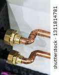 copper pipes and fittings for... | Shutterstock . vector #1311814781