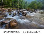 beautiful waterfall at national ... | Shutterstock . vector #1311822374