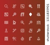 editable 25 discovery icons for ... | Shutterstock .eps vector #1311835901