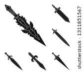 vector design of sharp and... | Shutterstock .eps vector #1311851567