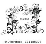 ornate vector background | Shutterstock .eps vector #131185379