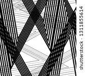 linear pattern grid  straight ... | Shutterstock .eps vector #1311855614