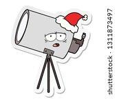 hand drawn sticker cartoon of a ... | Shutterstock .eps vector #1311873497