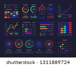 modern graphic data chart... | Shutterstock .eps vector #1311889724