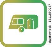 vector caravan icon    Shutterstock .eps vector #1311890267