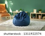 beanbag chair in interior of...   Shutterstock . vector #1311922574