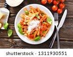 italian style pasta with tomato ... | Shutterstock . vector #1311930551