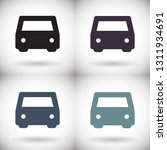vector icon car 10 eps