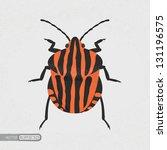 Shield Bug   Eps10 Vector Format
