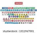 123 utile signs  | Shutterstock . vector #1311967001