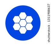 honey comb icon | Shutterstock .eps vector #1311988637