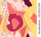 creative seamless pattern.... | Shutterstock .eps vector #1312011704