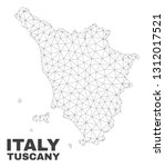 abstract tuscany region map... | Shutterstock .eps vector #1312017521