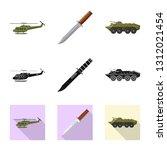 vector design of weapon and gun ... | Shutterstock .eps vector #1312021454