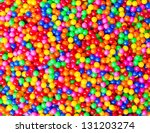 Colorful Ball And Colorful Of...