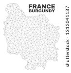 abstract burgundy province map... | Shutterstock .eps vector #1312041137