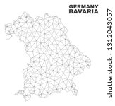 abstract bavaria land map...   Shutterstock .eps vector #1312043057