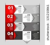 modern design template  ... | Shutterstock .eps vector #131210861