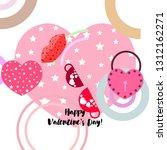 valentine's day  mug  lock ...   Shutterstock .eps vector #1312162271