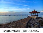 sanur beach  bali  indonesia  ... | Shutterstock . vector #1312166057