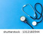 medical stethoscope.... | Shutterstock . vector #1312183544