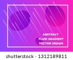 abstract fluid creative... | Shutterstock .eps vector #1312189811
