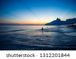 scenic landscape view of... | Shutterstock . vector #1312201844