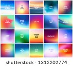 big set of 20 high quality... | Shutterstock .eps vector #1312202774