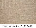 burlap background. natural... | Shutterstock . vector #131223431