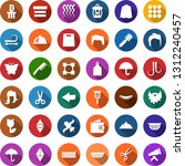 color back flat icon set  ... | Shutterstock .eps vector #1312240457