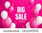 special offer big sale banner... | Shutterstock .eps vector #1312242941