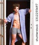 sexy bachelor lover concept....   Shutterstock . vector #1312255697
