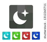 star   moon   app icon | Shutterstock .eps vector #1312265711