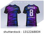 t shirt sport design template ... | Shutterstock .eps vector #1312268834