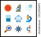 9 discovery icon. vector...   Shutterstock .eps vector #1312303691